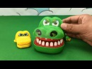 Crocodile Toy Attack Learn Color Peppa pig Learn colors Toy Transformers Toy