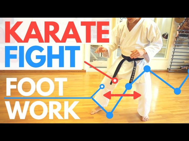 HOW TO CONTROL A FIGHT Karate Footwork Jesse Enkamp