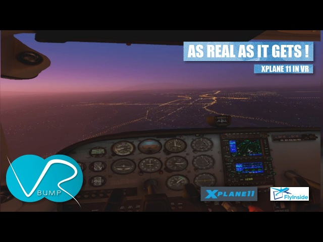 XPLANE 11 IN VR THIS LOOKS LIKE THE REAL THING