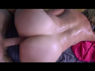 Brianna beach — mothers first massage from son (pov, milf)
