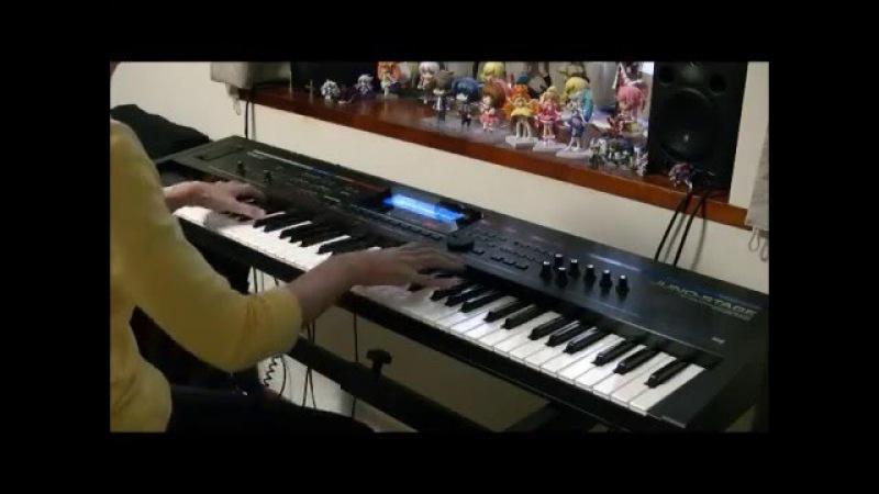 Futari no Dokei (Their Admirations) played on a synthesizer (Durarara!! BGM)