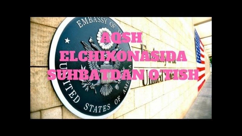 AQSH ELCHIXONASIDA SUHBATDAN O'TISH GREEN CARD