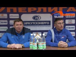 Пресс-конференция О. Чубинского и Н. Кадакина