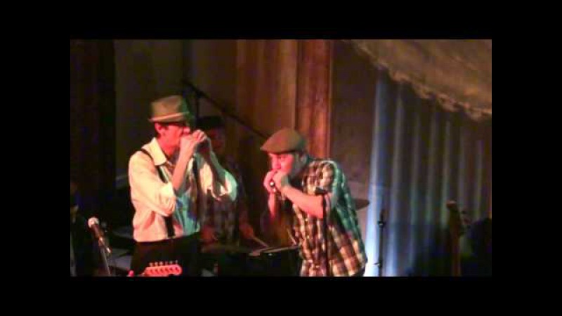 Andy J Forest and Monkeyjunk Harris' Harmonica Humdinger