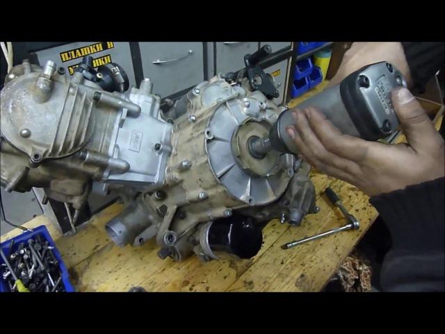 STELS ATV 450H HISUN метки ГРМ регулировка ремонт сборка двигателя