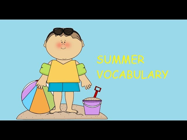 Summer Vocabulary ESL