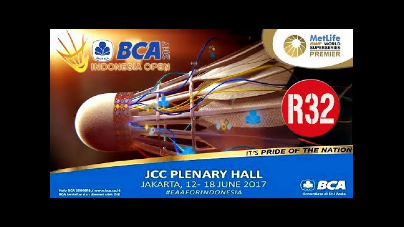 2017 BCA Indonesia Open R32 [MS] CHEN Long vs Marc ZWIEBLER