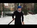 Упражнения с палкой 18 работа с вертикальной осью тела
