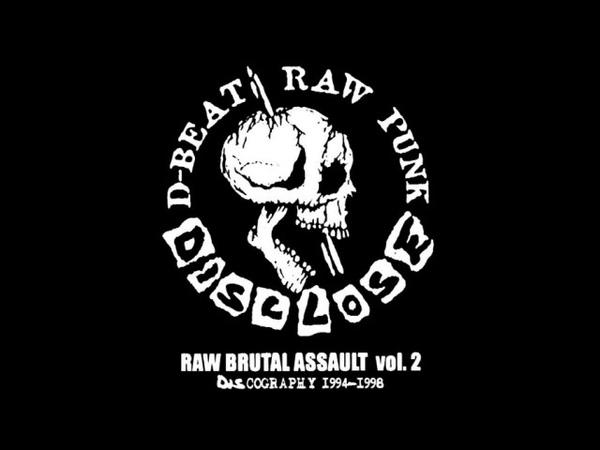 Disclose (Japan) - Raw Brutal Assault Vol. 2 Discography 1994 1998 (Disc 1)