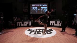 Battlefield 2018 | HipHop 2vs2 quarter final | Snu Dee & Beckz vs James & Dennis