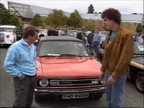 Very old Top Gear Very young Jeremy Clarkson and Tiff Needell