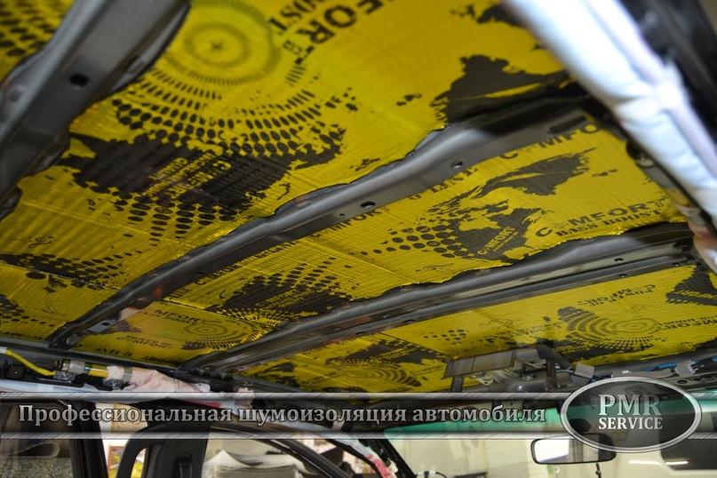 Шумоизоляция Toyota Hilux, изображение №3