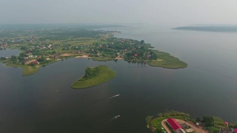 Над зеркалом тверских вод, Тверская область