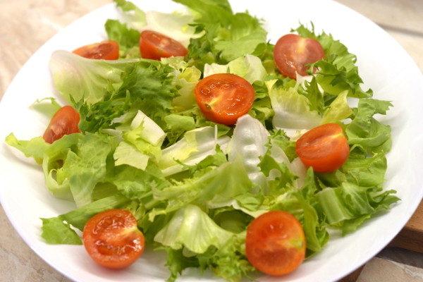Салат с фаршем и овощами Чизбургер, изображение №6