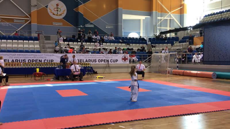 Belarus Open Cup 2019. Дебердеева Ульяна 2 круг ката