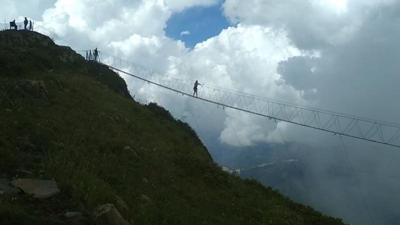 Роза Хутор вершина Роза Пик 2320 метров