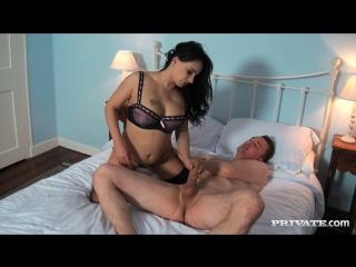 Eva may. жёсткая долбёжка зрелой брюнетки и кремпаем. sexy mature milf cougar tits stockings lingerie hardcore pussy creampie