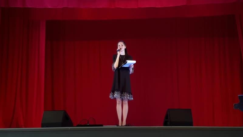 Дарья Татарчук - Думать о Боге (выступление на гала-концерте)