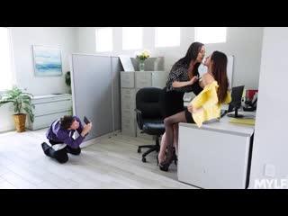 Ariella ferrera, dana dearmond office creampies [порно мамки, зрелые, wife, mom, big tits sex, blowjob, treesome, milf]