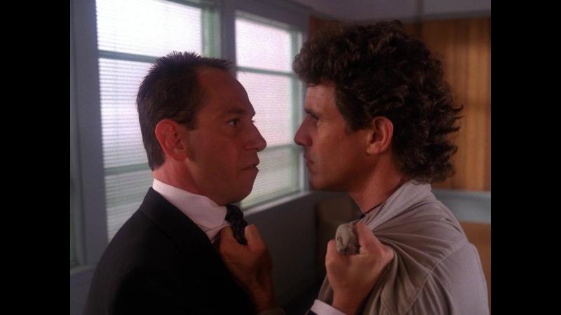 Твин Пикс Сезон 2 серия 3 Дэвид Линч 1990 1991 Эпизод Философия ненасилия Альберта HD