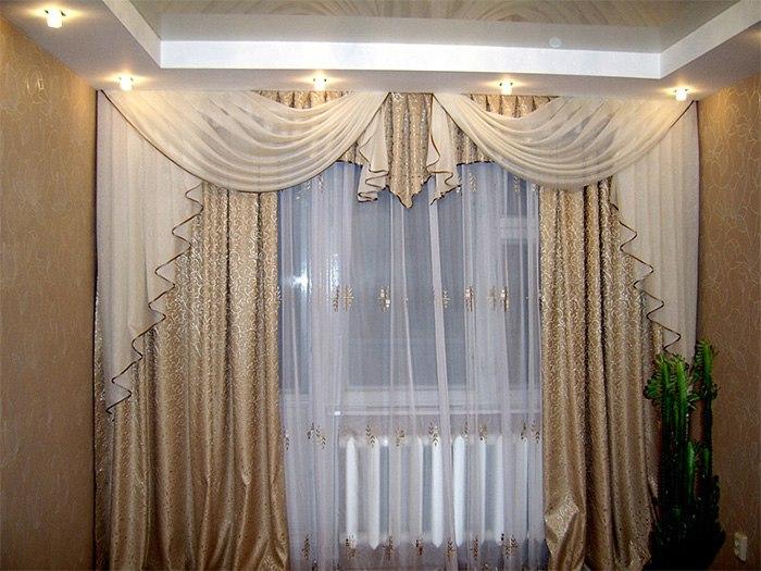 Потолочные шторы в зал — советы и рекомендации по выбору, изображение №20