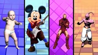 Gangnam Style Disco Dancer | Nhạc Sôi Động Cho Bé | Nhảy Cùng Baby, Mickey, Iron Man, MaBư (part 1)