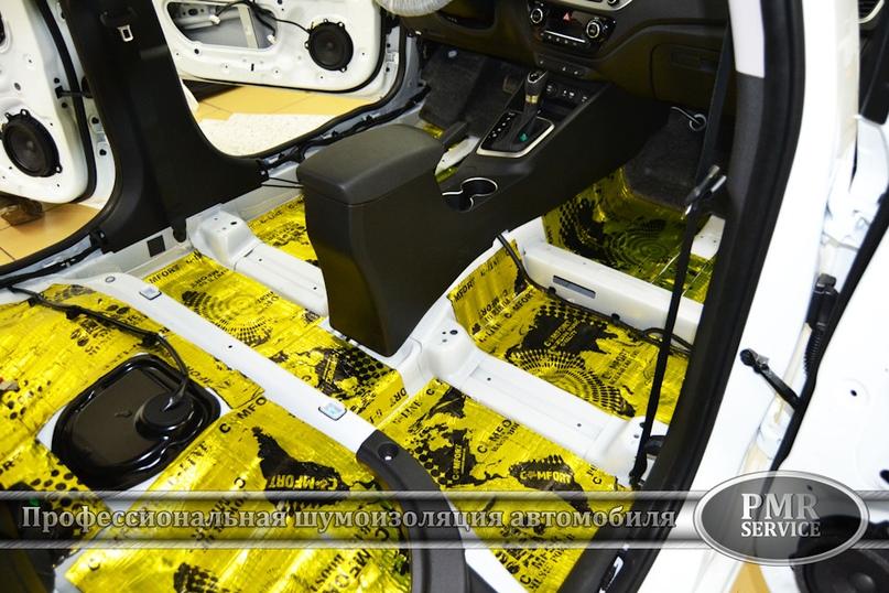 Шумоизоляция Hyundai Solaris, изображение №5