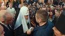 Востриков, при Патриархе, показывает Цивилёву - Заткнись, пасть порву, моргала выколю. · coub, коуб