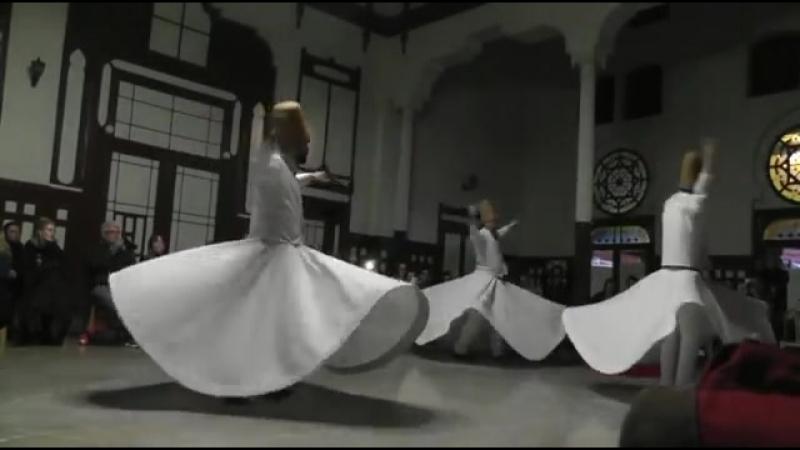 Танец Дервишей Стамбул 29 12 2017