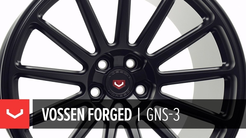 Vossen Forged | GNS-3 Wheel | Satin Black