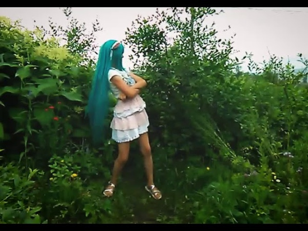Youkai Taisou DaiichiDance cover Хацуне Мику Вокалоид косплей ☆Дарья Луна Daria Moon