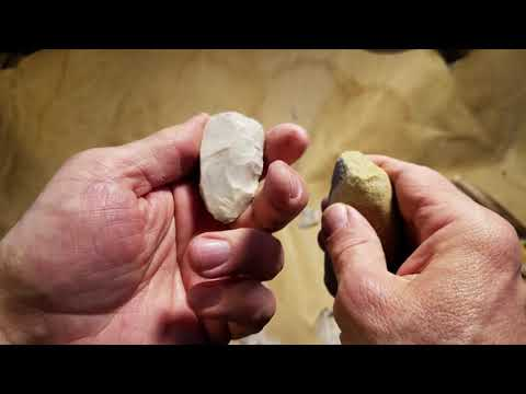 Abo Flintknapping Barbed and Tanged Arrowhead