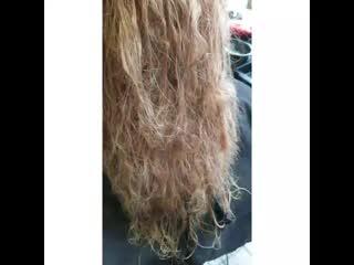 Выпрямление moroccan hair keratin
