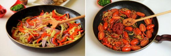 Запеченная рыба с овощами, изображение №5