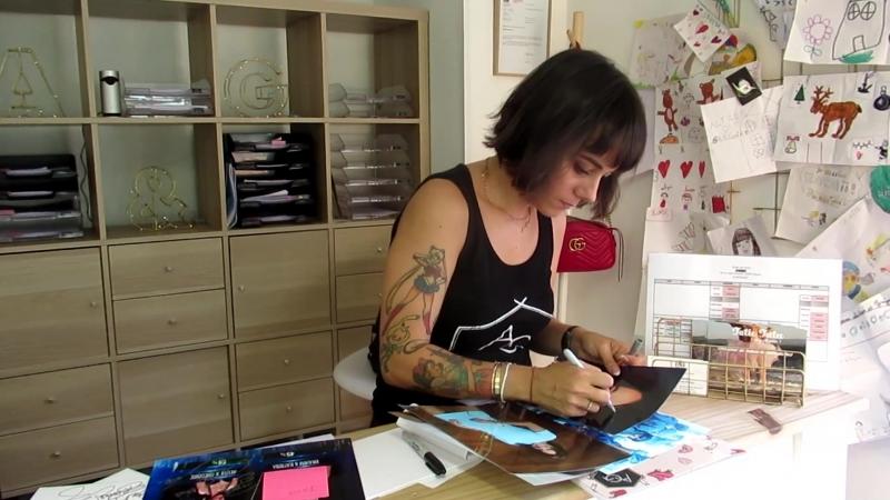 Alizee автограф сессия в Studio de Danse Lyonnet
