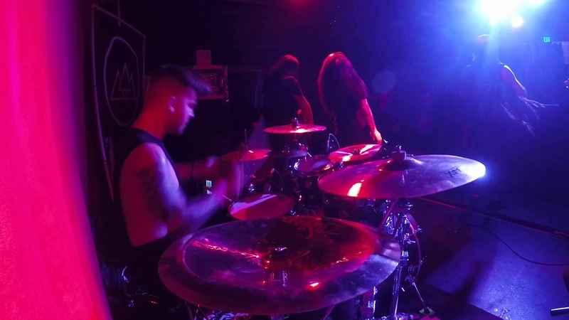 A Trigger Within - The Wasted (Live @The Slidebar - drum cam)