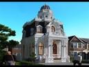 Thiết kế biệt thự 2 tầng kiểu Pháp tại Hưng yên