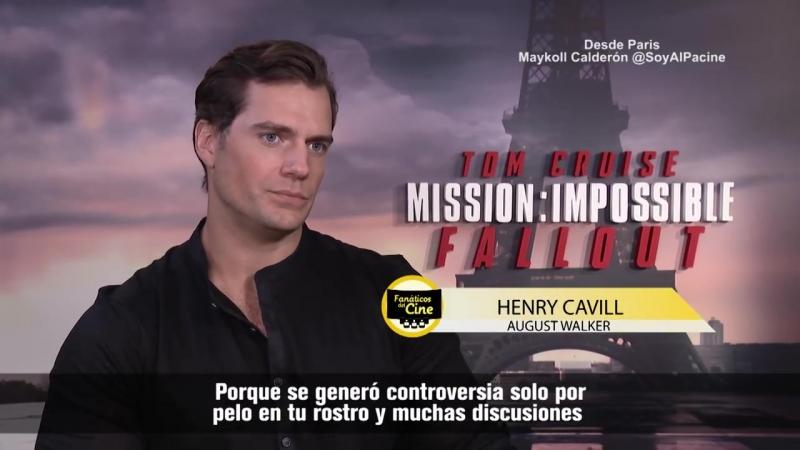 """Henry Cavill Quise hacer mis propias escenas de acción en Misión Imposible"""""""