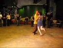 Tango Lesson: Sacada