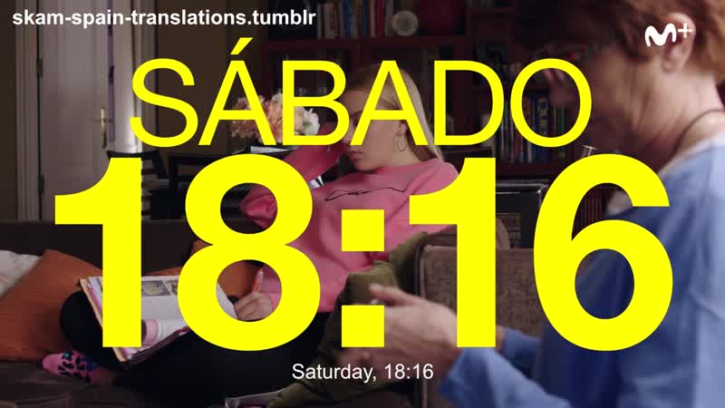 Skam Spain S02e07 Clip 6 You dont have any problems