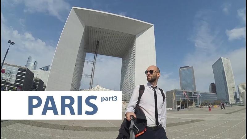 Paris part 3 La D fense Mus e du Louvre Notre Dame de Paris