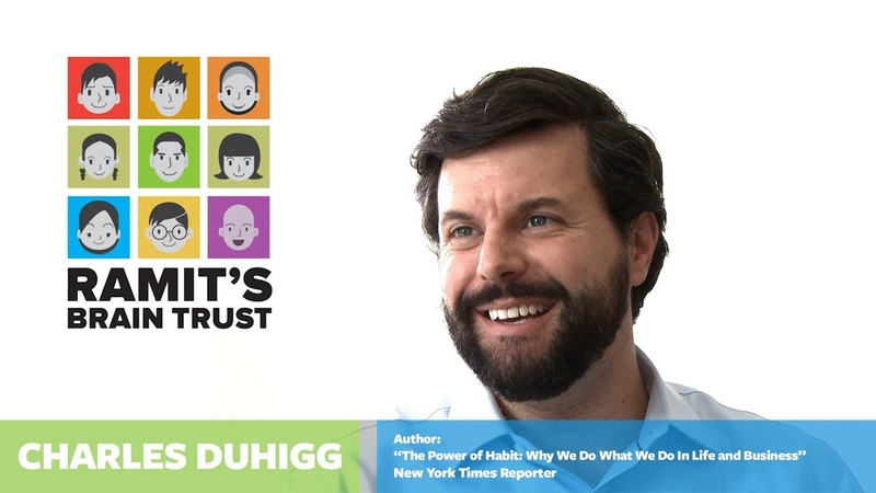 How to create a habit With Charles Duhigg and Ramit Sethi
