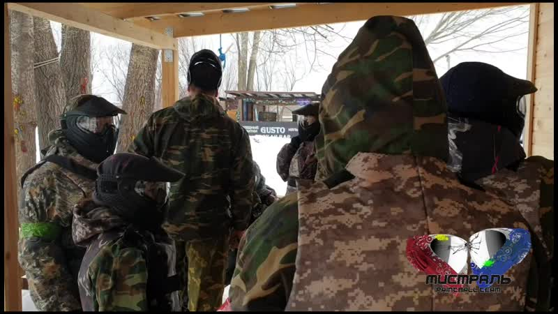пейнтбол с Мистраль paintball team 8.03.2019