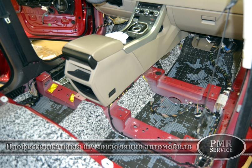 Комплексная шумоизоляция Land Rover Evoque, изображение №6