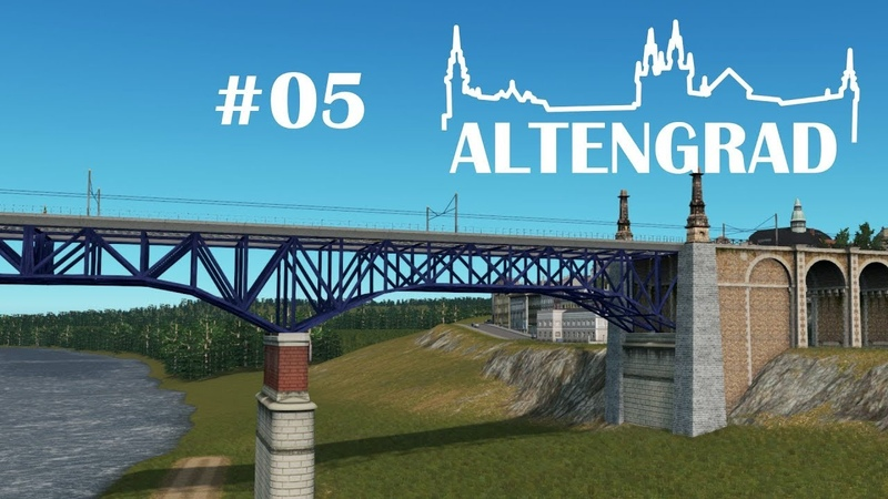 Truss Bridge - Cities: Skylines - Altengrad 5
