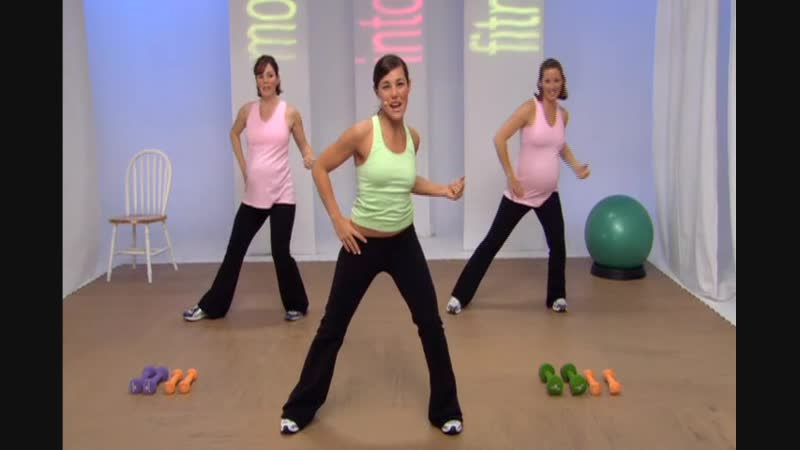 Moms Into Fitness 3rd Trimester Cardio and Toning
