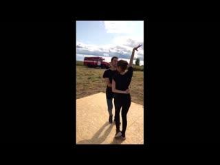 "Vlad y nika ""strazile din bucuresti"" by florianrus, mira (bachata remix by dj ramon) | gimme dance"