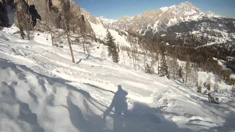 GoPro Skiing the Dolomites Cortina d'Ampezzo смотреть онлайн без регистрации