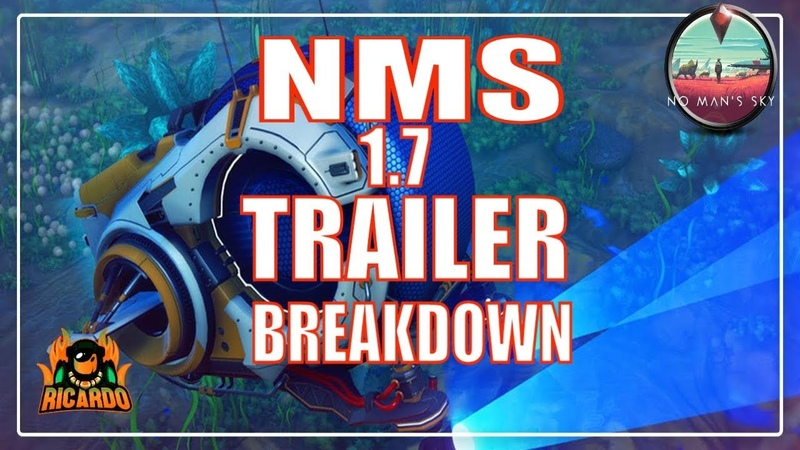 No Man s Sky Next 1.7 The ABYSS Trailer breakdown