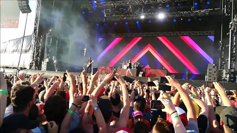 Sum 41 Blink 182 Linkin Park iDays Monza 17 06 2017
